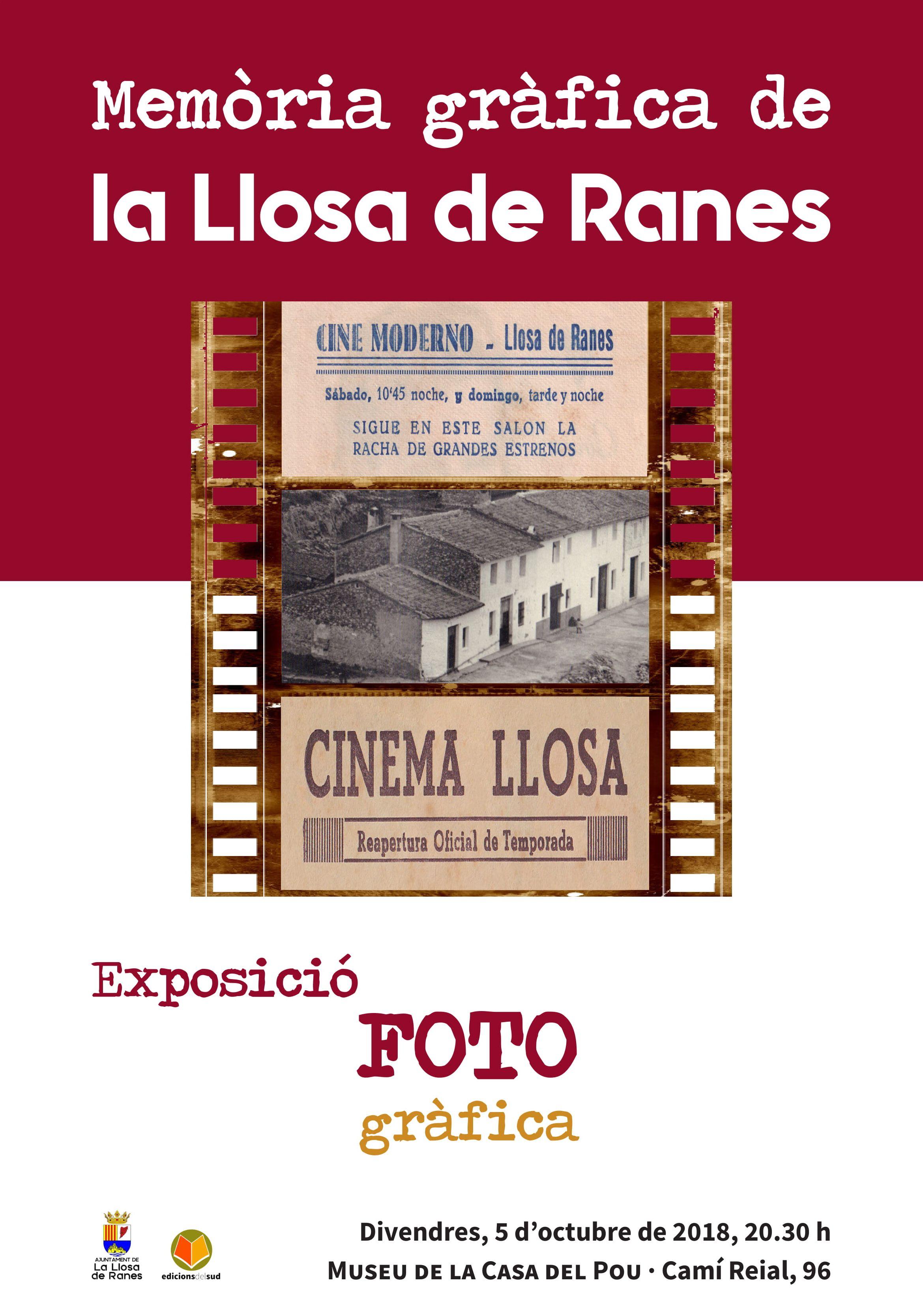 «L'Agenda»:  Entrevista a Manel Arcos – Exposició 'Memòria gràfica de la Llosa de Ranes'