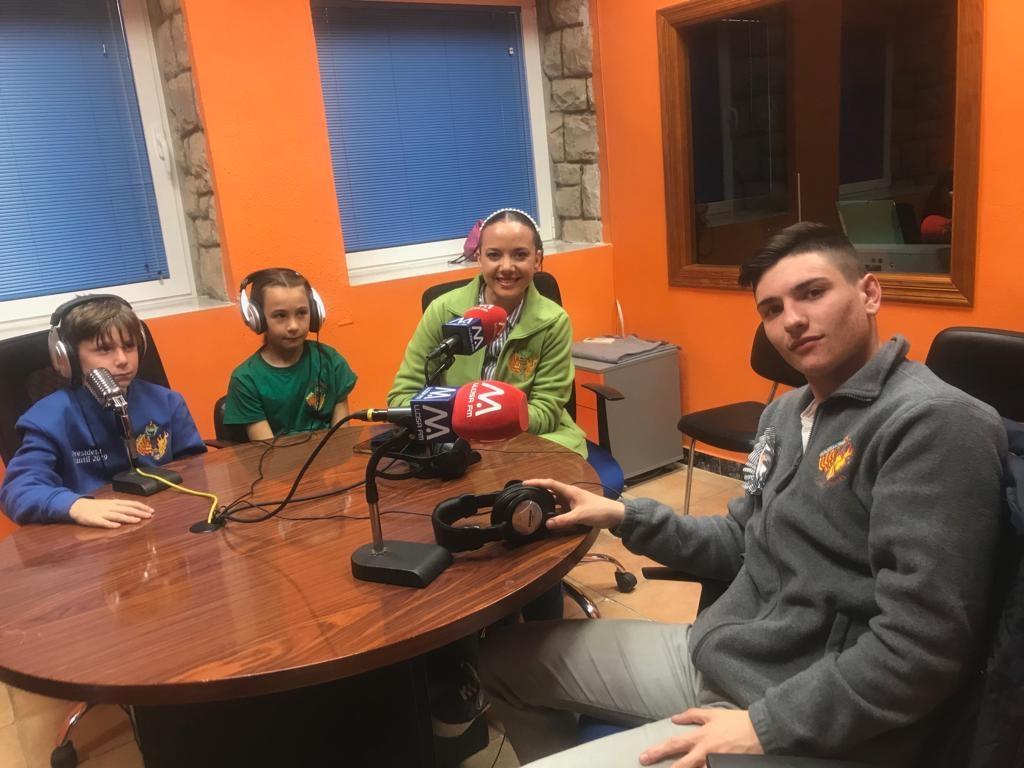 Llosa FM culmina les entrevistes falleres en «Micro obert» amb la falla Plaça Major