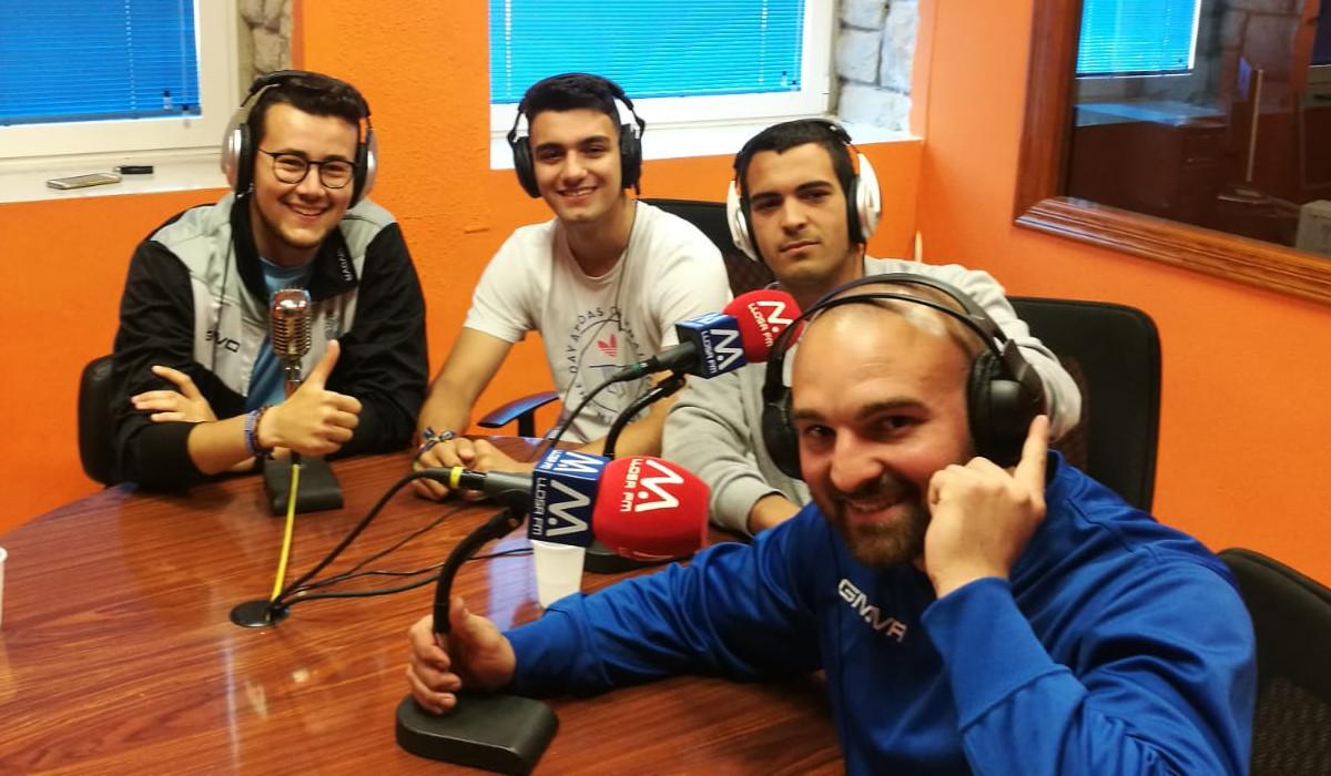 «Micro obert» entrevista els protagonistes de l'ascens del juvenil del CD Llosa